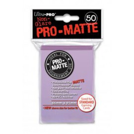 Koszulki PRO-MATTE Lilac 50 szt. - Ultra Pro