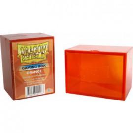 Pudełko Dragon Shield na 100 kart - pomarańczowe