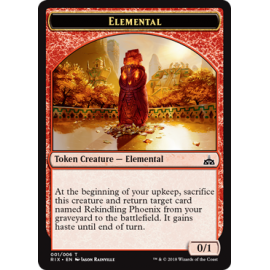 Elemental 0/1 Token 01 - RIX
