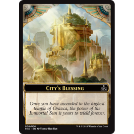 City's Blessing Token 06 - RIX