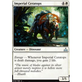 Imperial Ceratops FOIL