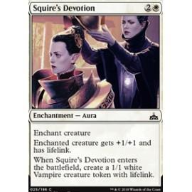 Squire's Devotion FOIL