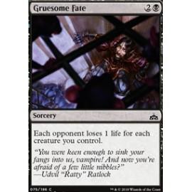 Gruesome Fate FOIL