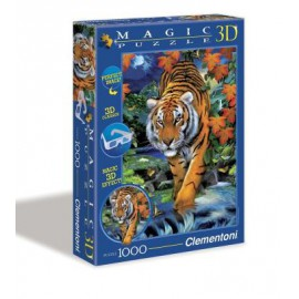 Magic Puzzle 3D - On The Prowl (1000 elementów)