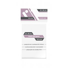 "Koszulki Rebel (59x86 mm) ""Small Card Game"" - 100 sztuk"