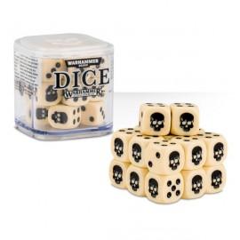 Zestaw kości Citadel Dice Cube (12mm) - Kościane