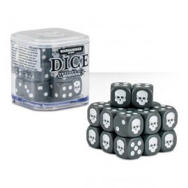 Zestaw kości Citadel Dice Cube (12mm) - Szare