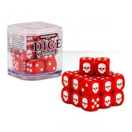 Zestaw kości Citadel Dice Cube (12mm) - Czerwone