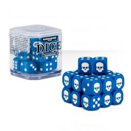 Zestaw kości Citadel Dice Cube (12mm) - Niebieskie