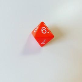 Kostka K8 - pomarańczowa