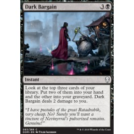 Dark Bargain FOIL