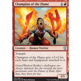 Champion of the Flame FOIL