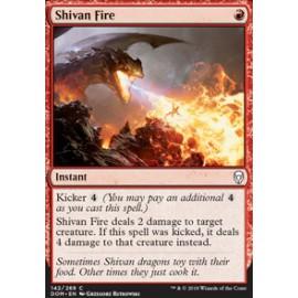 Shivan Fire FOIL