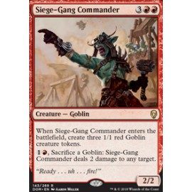 Siege-Gang Commander FOIL