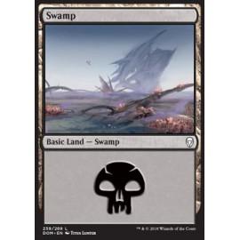 Swamp Dominaria FOIL 259