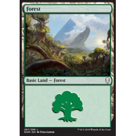 Forest Dominaria FOIL 267