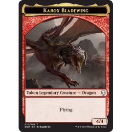 Karox Bladewing 4/4 Token 10 - DOM