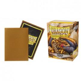 Koszulki Dragon Shield Matowe Złote 100 szt.