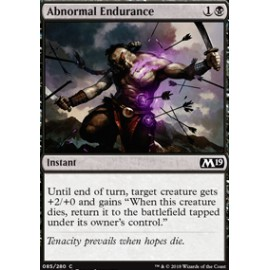 Abnormal Endurance