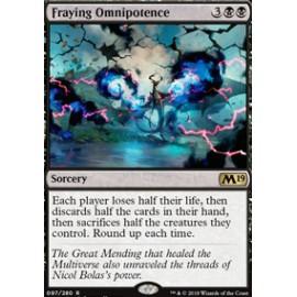 Fraying Omnipotence