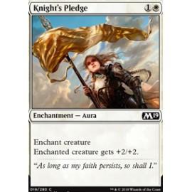 Knight's Pledge FOIL