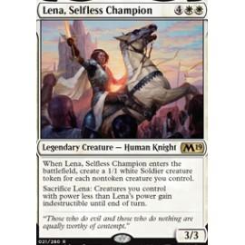 Lena, Selfless Champion FOIL