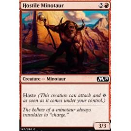 Hostile Minotaur FOIL