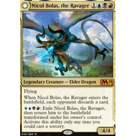 Nicol Bolas, the Ravager FOIL