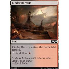 Cinder Barrens FOIL