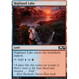 Highland Lake FOIL