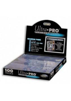 Strony do segregatora Ultra Pro - Platinum