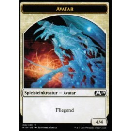 Avatar 4/4 Token 02 - M19