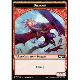 Dragon 5/5 Token 10 - M19
