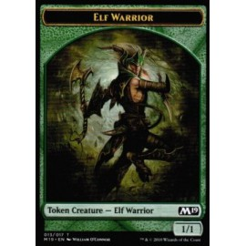 Elf Warrior 1/1 Token 13 - M19