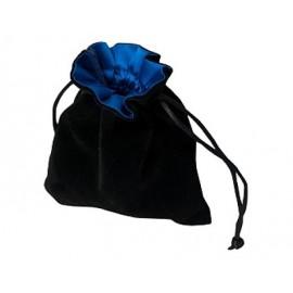 Sakiewka na kostki - czarno-niebieska