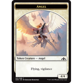 Angel 4/4 Token 01 - GRN