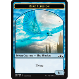 Bird Illusion 1/1 Token 03 - GRN