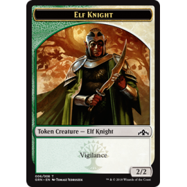 Elf Knight 2/2 Token 06 - GRN