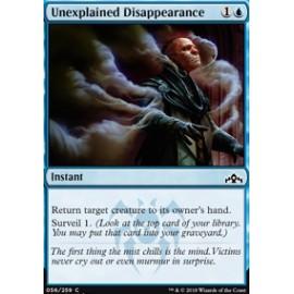 Unexplained Disappearance FOIL