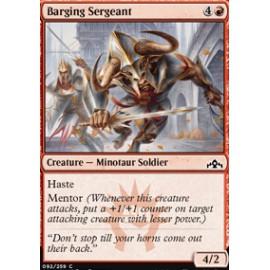 Barging Sergeant FOIL