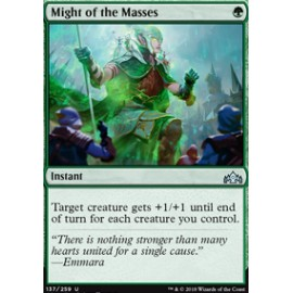 Might of the Masses FOIL