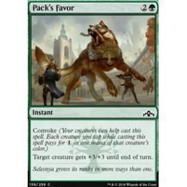 Pack's Favor FOIL