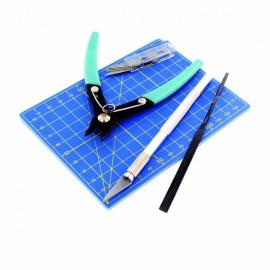 Podstawowy zestaw narzędzi modelarskich (9 elementów) - Vallejo