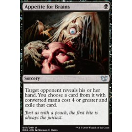 Appetite for Brains