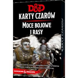 Dungeons & Dragons: Karty czarów - Moce bojowe i rasy [PRZEDSPRZEDAŻ]