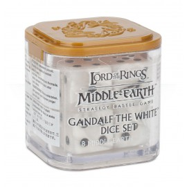 Gandalf White Dice Set