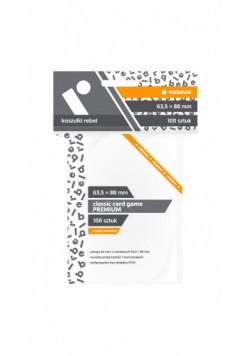 Koszulki Rebel (63,5x88 mm) Classic Card Game Premium - 100 sztuk
