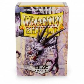 Koszulki Dragon Shield Matowe Lilac 100 szt.