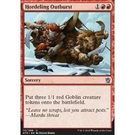 Hordeling Outburst