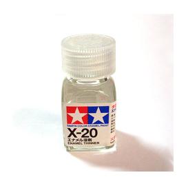 Rozcieńczalnik do farb olejnych - Tamiya 80020 X-20 Enamel Thinner 10 ml